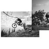 """Hoy es el día de la amistad y que mejor que una amistad sobre ruedas! Celebrando también el """"International ride MTB day"""" junto a estos dos pilotos @ignaciorojop y @nicohidalgob que llevan mas de 15 años compartiendo experiencias, proyectos, viajes e innumerables días épicos sobre la bici!  . Gran sesion de freeride en sus ⚡️e-180⚡️ capturada por el genio @cristobalzelaya.ph 📸👏🏻 . @whytechile @bikingchile @whytebikes #whytefamily"""