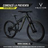 ¡Comenzó la preventa del nuevo embarque de @whytechile 🔥! . Pronto llegará a chile y ya puedes reservar tus modelos favoritos en ebike y bicicleta normal a través de www.biking.cl o en nuestras sucursales @bikingchile y distribuidores a lo largo del país!  . No te quedes sin la tuya, apurate!  . @whytechile @bikingchile #WhyteFamily